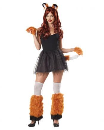 Fuchs Kostüm Set 4-teilig