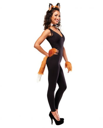Fuchs Kostüm Set mit Spitze 5-tlg