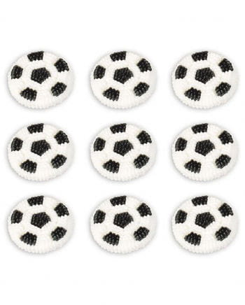 Zuckerdekor Football 9 Pcs