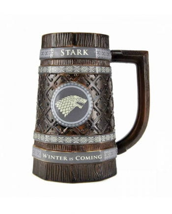 game of thrones bierkrug stark als geschenk horror. Black Bedroom Furniture Sets. Home Design Ideas