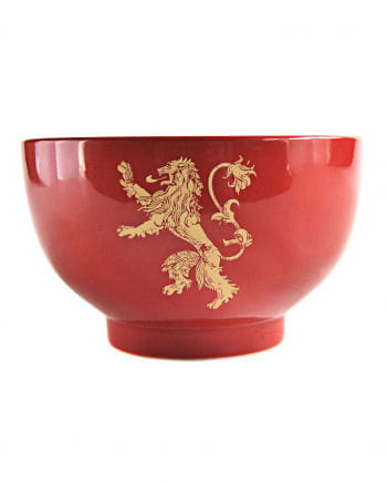Game Of Thrones House Lannister Cereal Bowl
