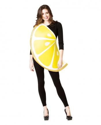 Zitronenscheibe One Size Kostüm