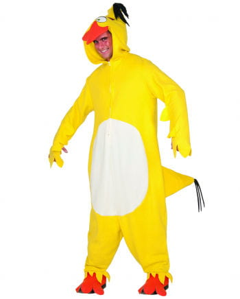 Yellow Angry Birds Chuck Onsie Overall