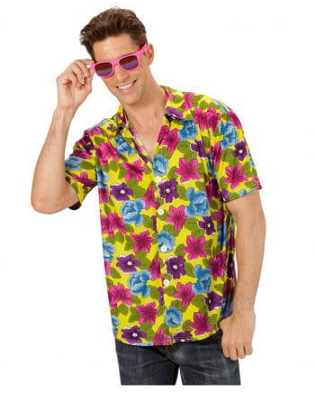 Hawaii Hemd gelb