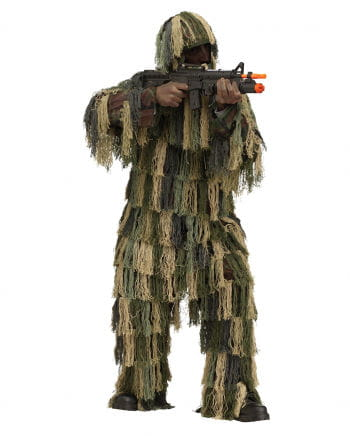 Sniper Boots Camouflage Costume