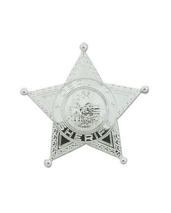 Glänzender Sheriff Stern
