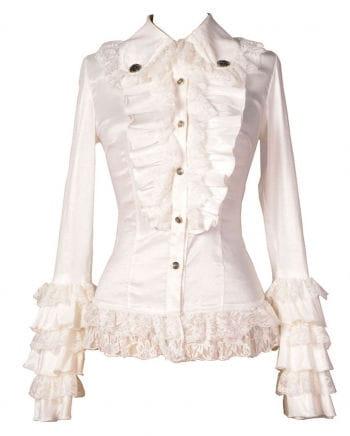 Gothic Blouse white