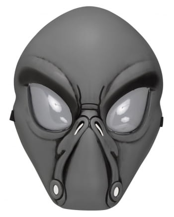 Gray Alien Half Mask