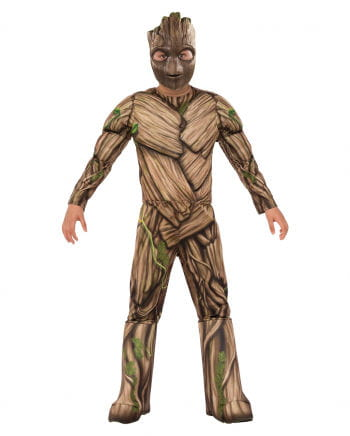 Groot Kids Costume With Mask