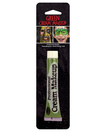 Green Horror Make Up