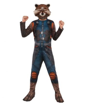 Guardians Rocket Raccoon Child Costume