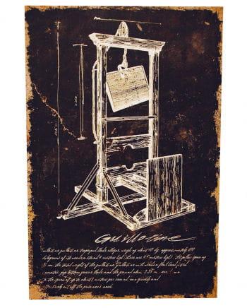 Guillotine - canvas print