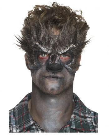 Haarige Werwolf Schaumlatex Applikation