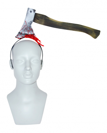 Hairband With Bloody Axe