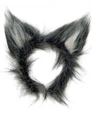 Wolfs Ohren aus Plüsch