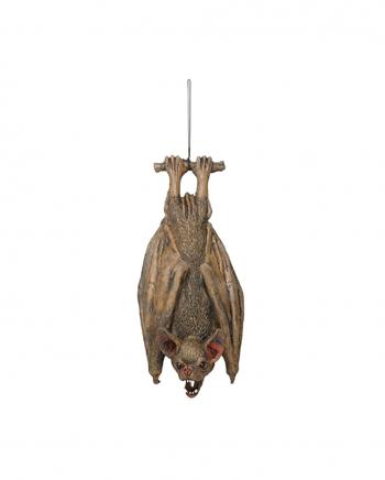 Hängende Fledermaus 36cm Latex