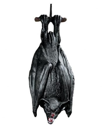 Hängende Fledermaus schwarz 38cm