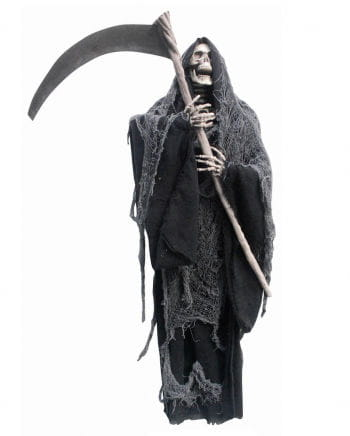 Hanging reaper with scythe