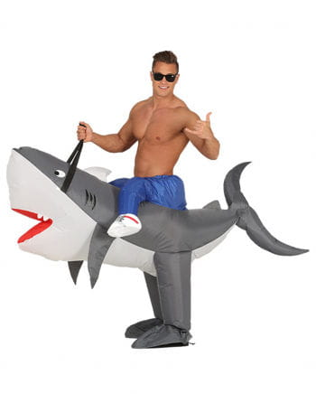 Shark Pumpkin Costume Inflatable