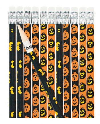 Halloween Pencils Pack Of 12