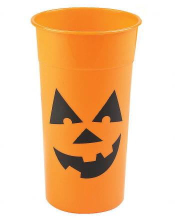 Halloween Pumpkin Drinking Mug