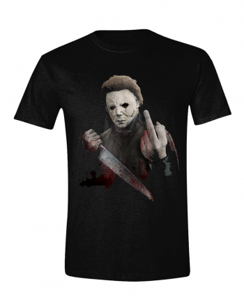Halloween - Michael Myers Mittelfinger T-Shirt