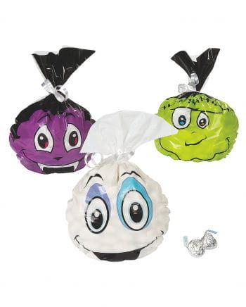 Halloween Cellophane Bags 12 Pcs