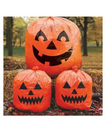 Halloween Laubsäcke mit Kürbismotiv 3 St.