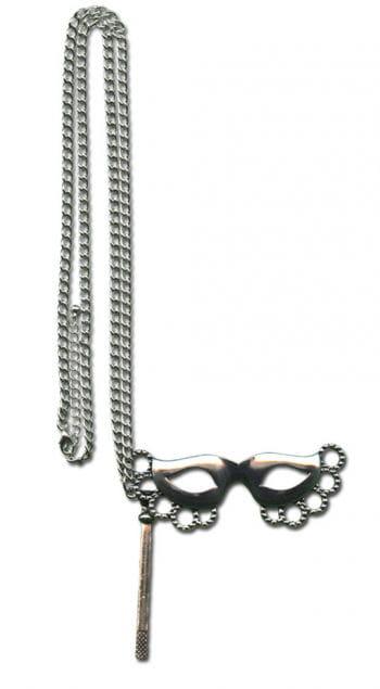Halskette mit Stabmaske