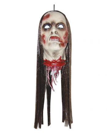 Severed Zombie Head of a Woman