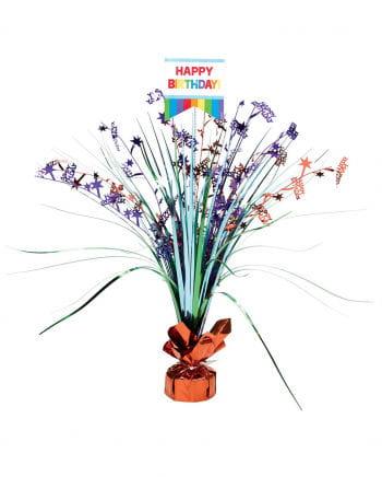 Happy Birthday Table Decoration Rainbow
