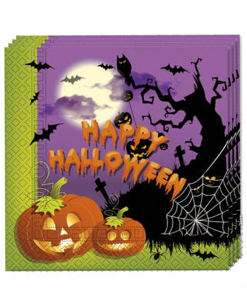 Happy Halloween napkins 20 St.
