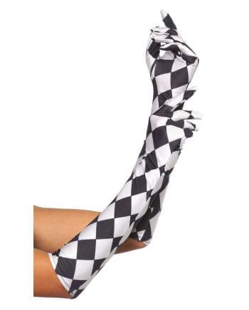Harlequin Gloves Elbow-length