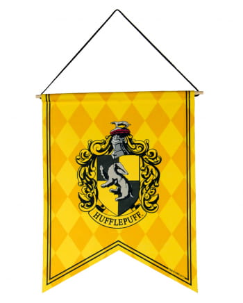 Harry Potter Hufflepuff Coat Of Arms Banner Buy Online Horror Shop