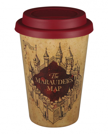 Harry Potter Marauders Map Travel Mug Huskup