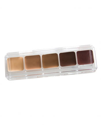 Hautfarben Make-Up Palette