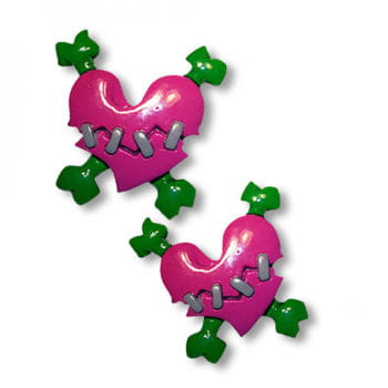 Heart Hairbands Pink