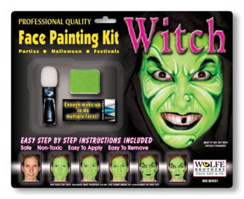 Witch Makeup Complete Set
