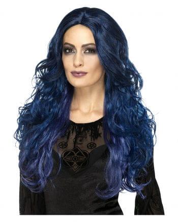 Witches Siren Wig Blue-black