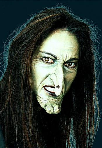 witch face prosthetic appliance witch makeup witch face. Black Bedroom Furniture Sets. Home Design Ideas