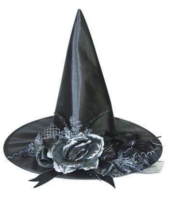 Hexenhut mit verblühter Rose