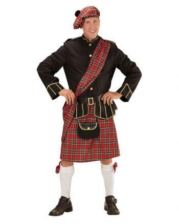 Highlander Scots costume with bag