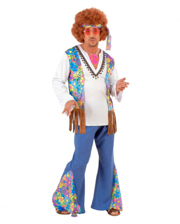 Hippie Male Costume Size L