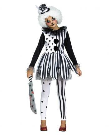 Horror Clown Kids Costume   Harlequin costume   horror-shop.com