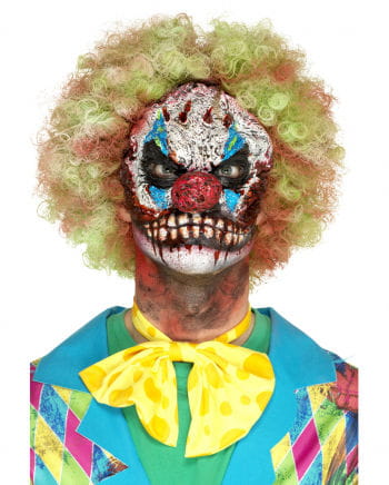 Horror Clown Foam Latex Application