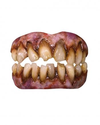Horror Zombie Zähne als Kostümzubehör