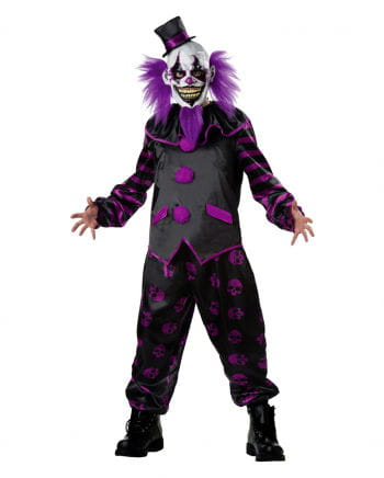 Horror clown costume with mask