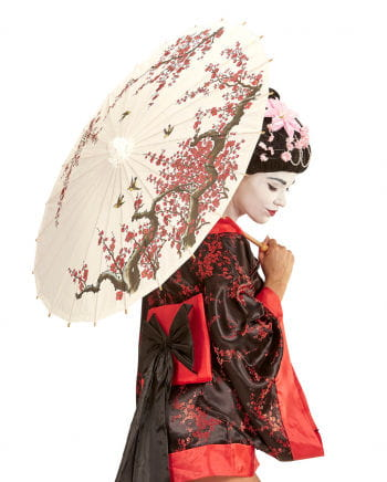 Asian rice paper parasol