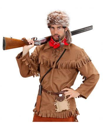 Trapper Shirt mit Fellmütze