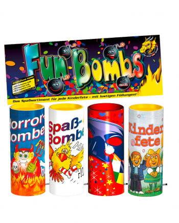 Fun Bombs Tischfeuerwerk 4p-Btl.